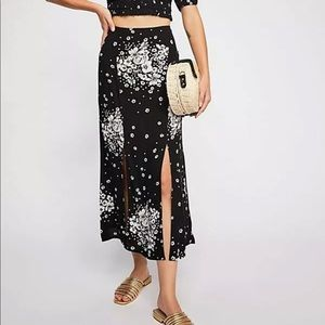 Free People Barre with Me Skirt